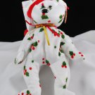 Retired Ty 1998 Holiday Teddy Bear Beanie Baby 4204