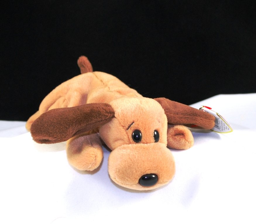 Retired Bones The Dog Ty Beanie Baby 4001