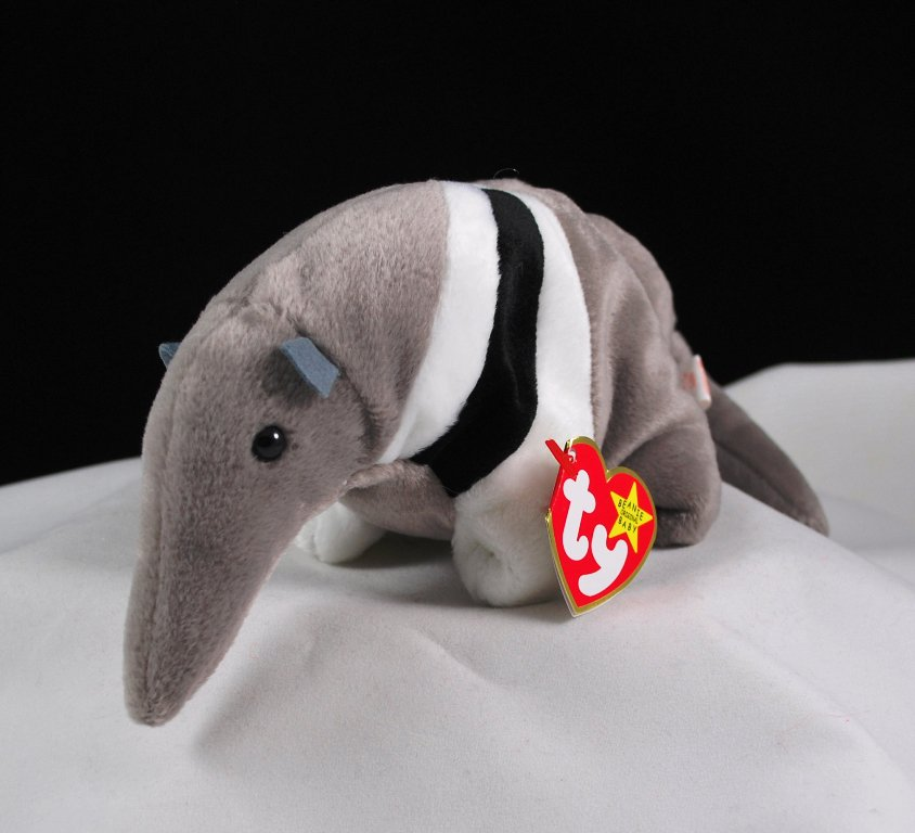 Retired Ants The Anteater Ty Beanie Baby 4195
