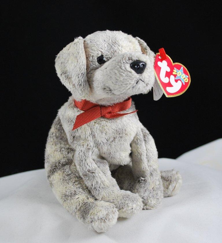 Retired Ty Tricks The Dog Beanie Baby 4311