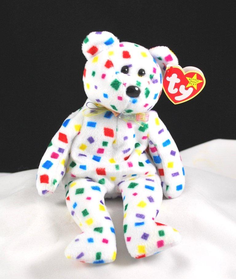 36a17e9abd5 Ty Beanie Baby Ty 2K The Bear Retired 4262