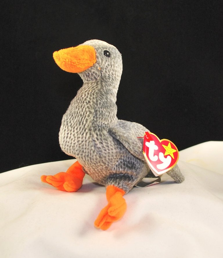 Ty Honks The Goose Retired Beanie Baby 4258