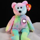 Ty B.B. Bear The Birthday Bear Retired Beanie Baby 4253
