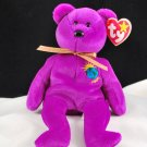 Retired Ty Millennium The Bear Beanie Baby 4226