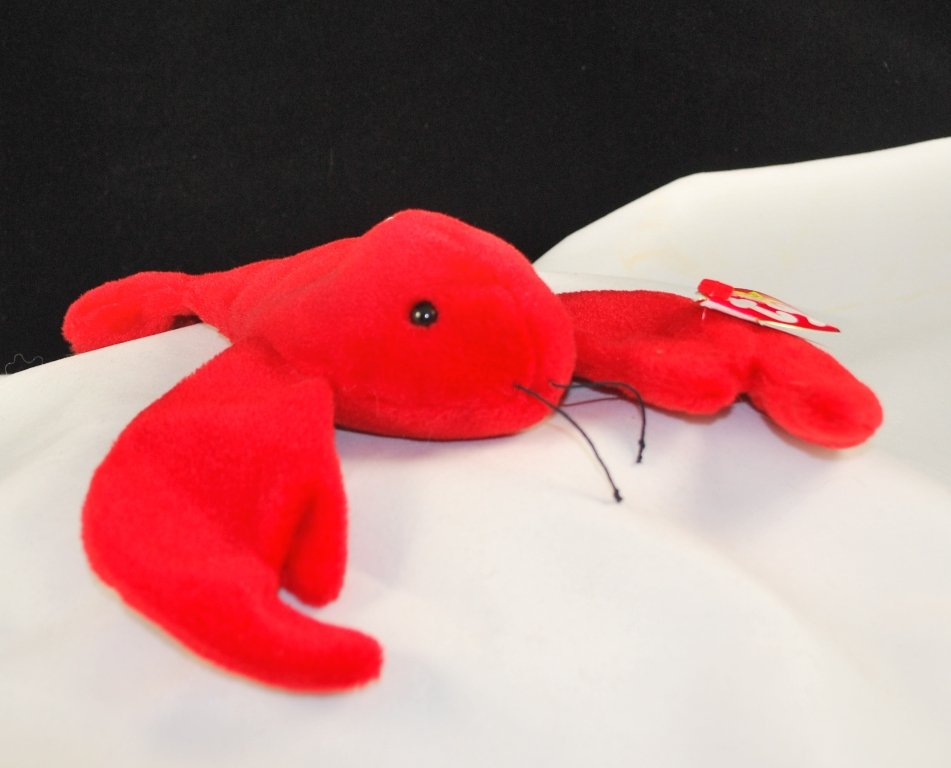 Retired Ty Beanie Baby Pinchers The Lobster 4026