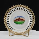 Vintage Order of Odd Fellow of Springfield Ohio Souvenir China Plate