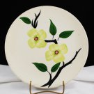 Blue Ridge Southern Potteries Skyline Shape Dogwood Dinner Plate