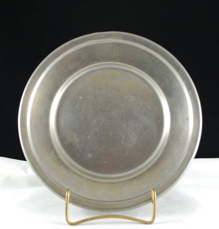 King's Quality Pewter by Trinac Vintage Plate