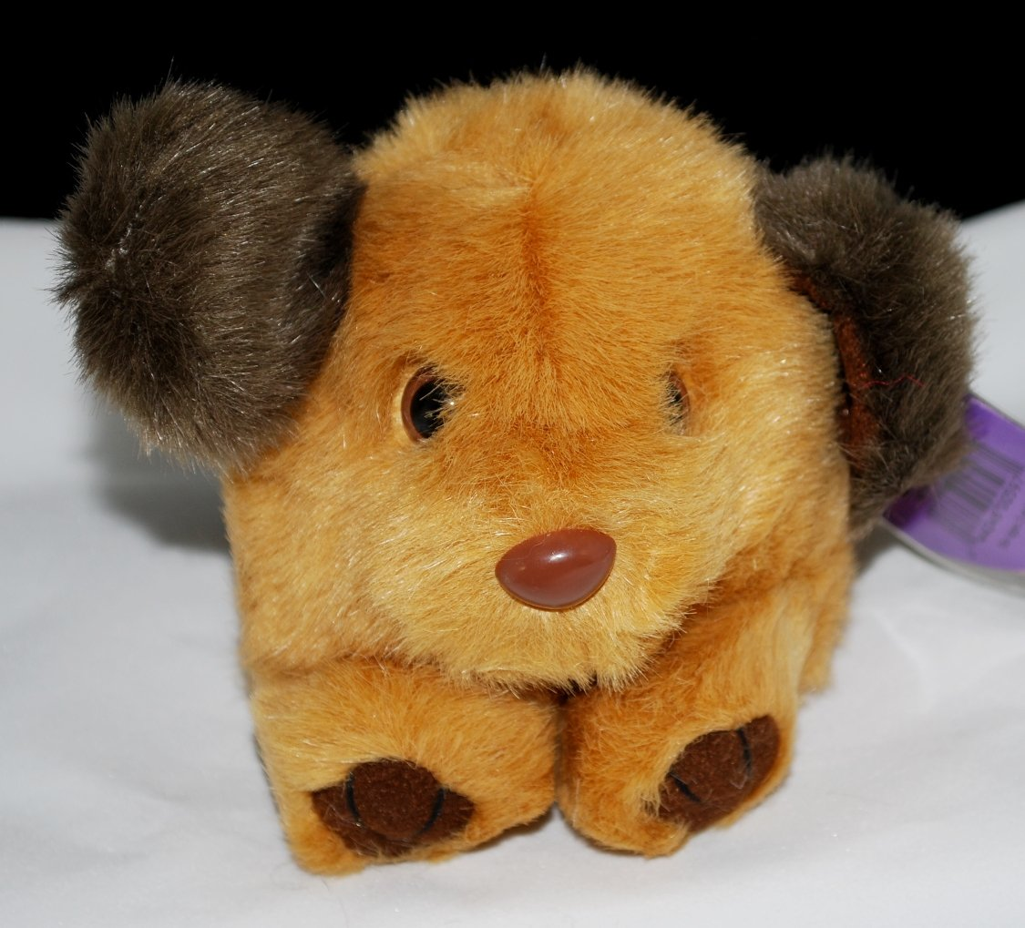Puffkins Fetch the Dog by Swibco Plush Style 6606
