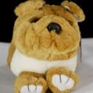 Bosley the Puffkins Bulldog Plush by Swibco Style 6654