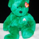 Erin Beanie Buddy Green Ty Plush Bear Style 9309