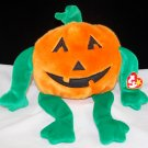 Ty Pumpkin' the Halloween Pumpkin Plush Beanie Buddy Style 9332