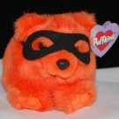 Trick the Masked Orange Bear Plush Puffkins Style 6697
