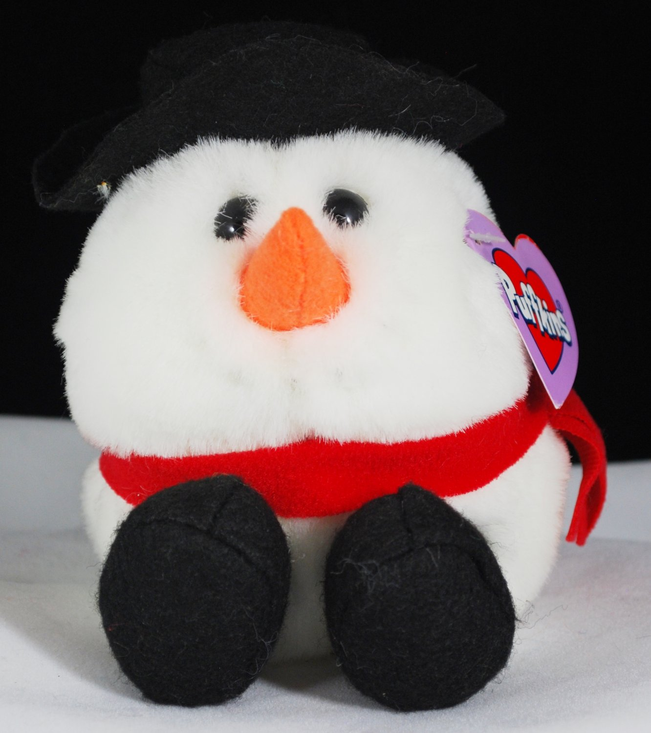 Flurry the Snowman Puffkins Swibco Plush Style 6669
