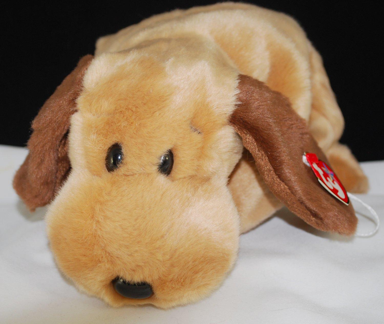 7f12115be80 Ty Bones the Hound Dog Beanie Buddy Plush Style 9377