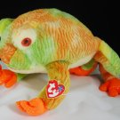 Ty Prince the Ty-Dye Frog Beanie Buddy Style 9401