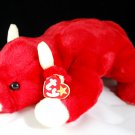 Snort the Bull Ty Beanie Buddy Plush Style 9311
