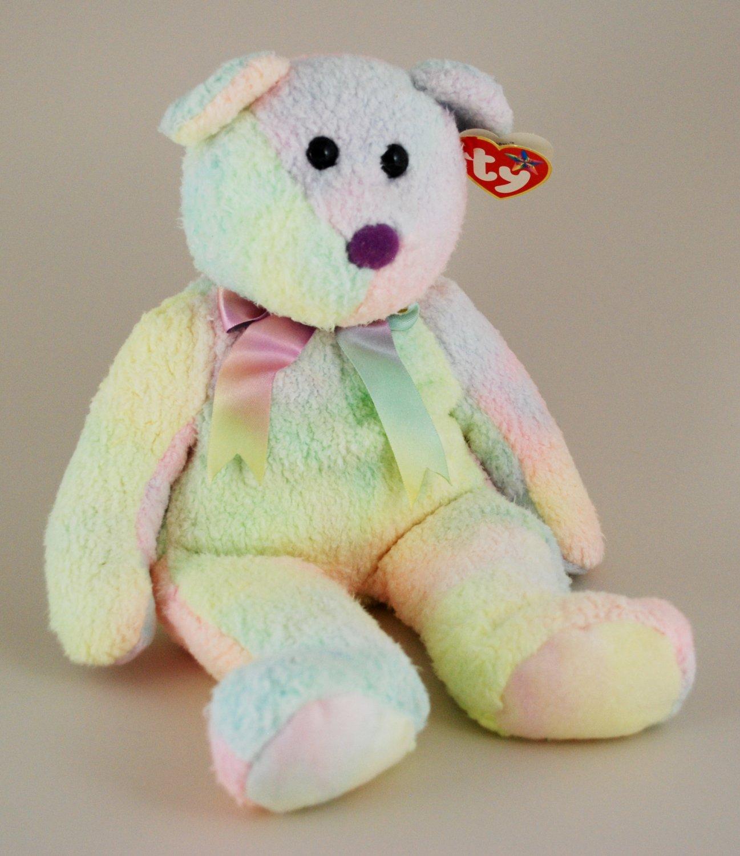 Ty Groovy the Bear Beanie Buddy Style 9345