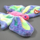 Ty Plush Beanie Buddy Flitter the Butterfly Style 9384