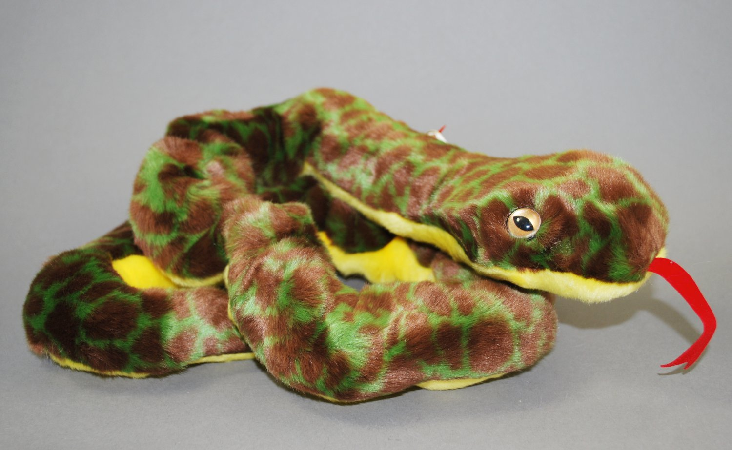 4f6a21ad9b6 Slither the Snake Ty Beanie Buddy Plush Style 9339