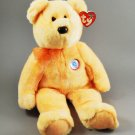 Sunny Ty Beanie Buddy E Bear Golden Plush Style 9414