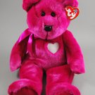 Ty Valentina the Bear Plush Beanie Buddy Style 9397