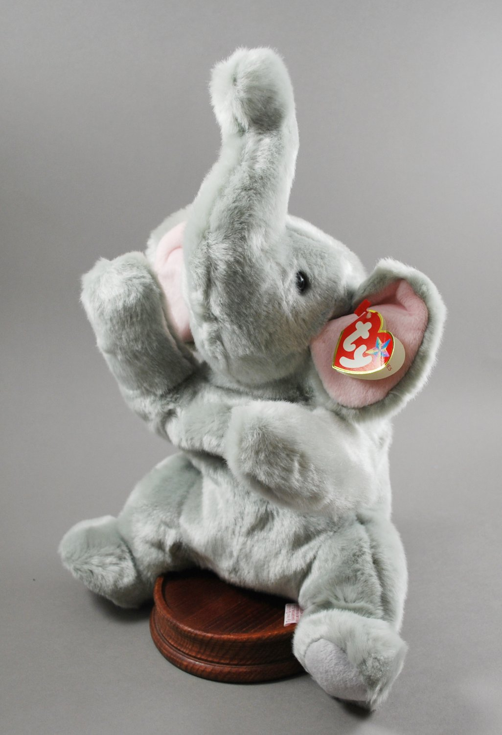 Ty Righty the Elephant Plush Beanie Buddy Style 9369