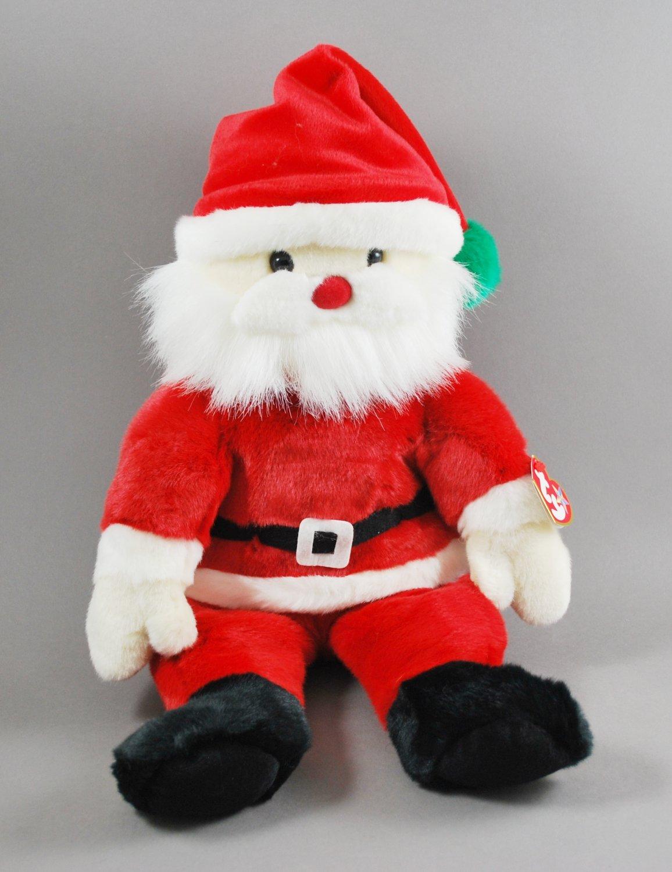 Santa Claus Christmas Ty Plush Beanie Buddy Style 9385