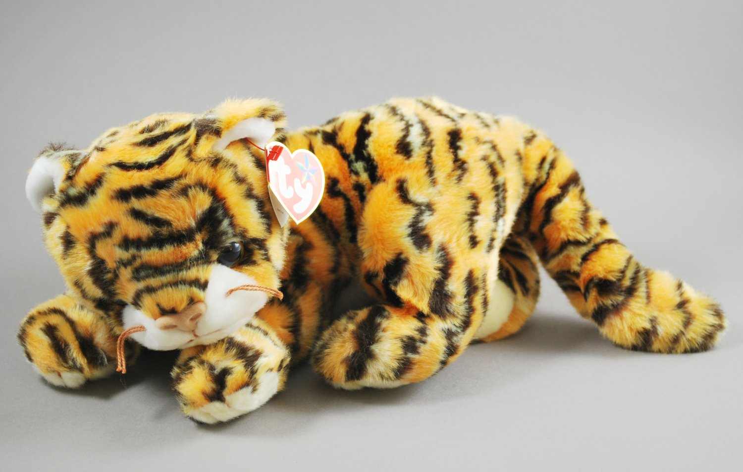 Ty Beanie Buddy India the Tiger Plush Style 9406