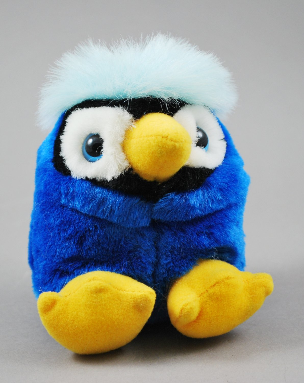 Puffkins Jake the Blue Jay Plush Swibco Style 6689