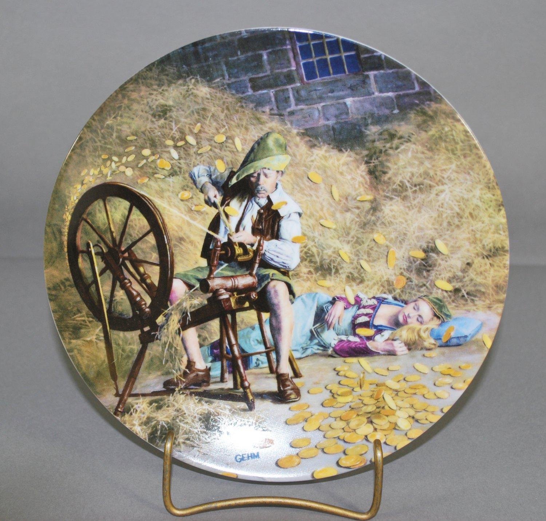 Konigszelt Bavaria Gehn Rumpelstilzchen Porcelain 1981 Collector Plate