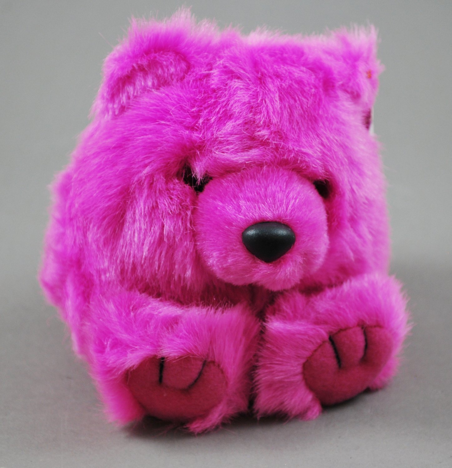 Rosie the Furry Puffkins Pink Bear Plush Swibco Style 6672