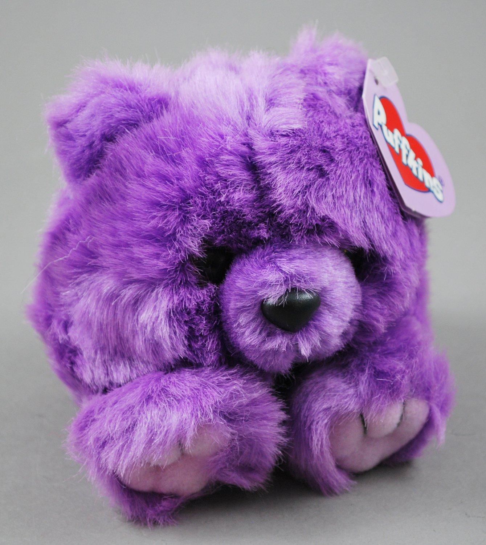 Violet the Bear Puffkins Bean Bag Plush Swibco Style 6659
