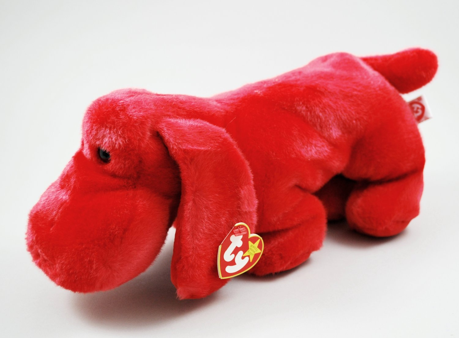 Rover The Red Dog Ty Beanie Buddy Plush Style 9305