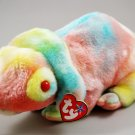 Ty Rainbow The Chameleon Tie-Dye Plush Beanie Buddy Style 9367