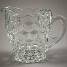 Indiana Glass Whitehall Crystal Clear Creamer