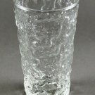 Anchor Hocking Lido Milano Crystal Clear Glass Flat Base Tumbler