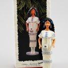 1996 Hallmark Native American Barbie Dolls Of The World  Christmas Ornament One