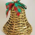 1988 Avon Christmas Holiday Greetings Festive Wicker Bell