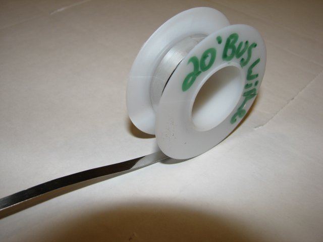 Bus wire 20' FEET solar cells, for making pv solar panels