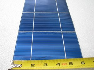 36- 3x6  3.65 amps each  solar cells, for making solar panels