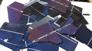 SOLAR CELLS 1 pound broken Mix sizes