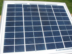 10 watt 12 volt  Blemished  Solar Panel,B-grade