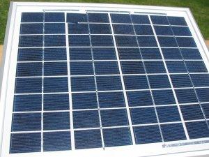 10 watt 12 volt  Blemished  Solar Panel,B-grade