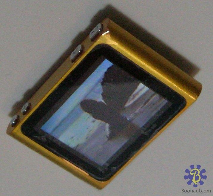 "1.8"" 6th Generation MP3 MP4 Player (Orange_4GB)"