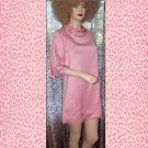 Chic Mod 60s Mini Beaded Sequined Pink Dress
