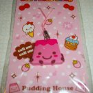 Pink Pudding Flan Cellphone Charm