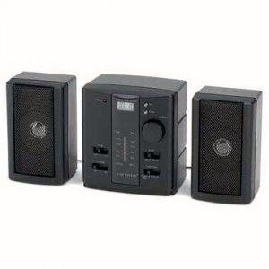 Mini Stereo Alarm Clock