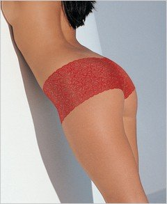 Pretty Stretch Lace Tanga Shorts