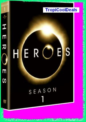 Heroes Season 1 One 1st First New/Sealed